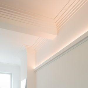 Profil LED poliuretan ORAC DÉCOR C383 - 200 x 5 x 14 mm