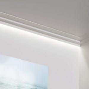 Profil LED poliuretan ORAC DÉCOR C390 - 200 x 10 x 6 mm